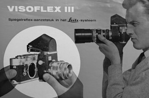 Spiegelreflex-aanzetstuk